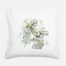 Je Taime' Square Canvas Pillow