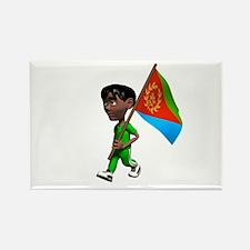 Eritrea Boy Rectangle Magnet