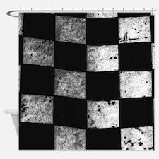 Checkered Flag Shower Curtain