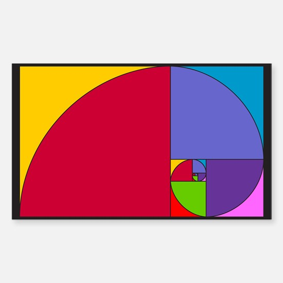 Pop Art Fibonacci Decal