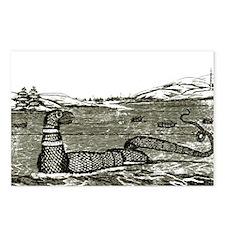1817 Sea Serpent Postcards (Package of 8)