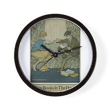 1924 Children's Book Week Wall Clock