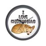 Chihuahua.jpg Wall Clock