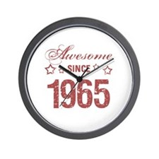 Awesome Since 1965 Wall Clock