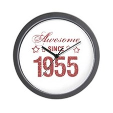Awesome Since 1955 Wall Clock