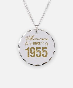 Awesome Since 1955 Necklace