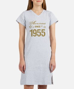 Awesome Since 1955 Women's Nightshirt