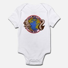 USS MYLES C. FOX Infant Bodysuit