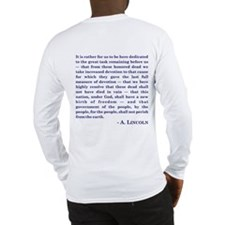 What Would LINCOLN Do Long Sleeve T-Shirt