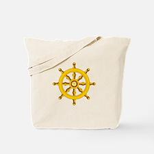DHARMA BUDDHISM WHEEL Tote Bag