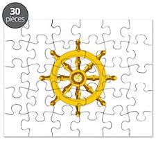 DHARMA BUDDHISM WHEEL Puzzle