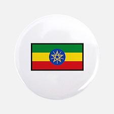 """FLAG OF ETHIOPIA 3.5"""" Button"""