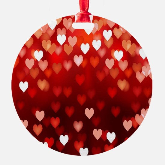 1,2,3,4,5.....hearts Ornament