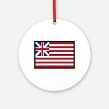 GRAND UNION FLAG Ornament (Round)
