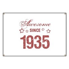 Awesome Since 1935 Banner