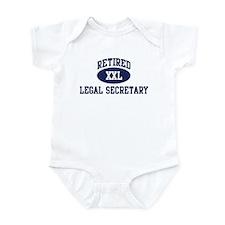 Retired Legal Secretary Infant Bodysuit