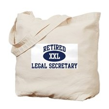 Retired Legal Secretary Tote Bag