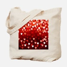 1,2,3,4,5.....hearts Tote Bag
