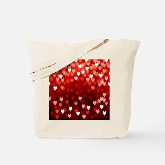 1,2,3,4,5.....hearts Tote Bag