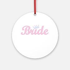 Royal Bride Ornament (Round)