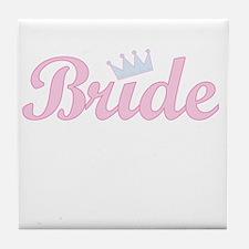 Royal Bride Tile Coaster