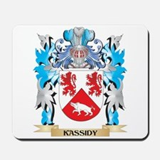 Kassidy Coat of Arms - Family Crest Mousepad