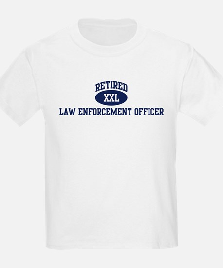 Retired Law Enforcement Offic T-Shirt