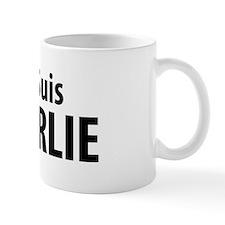 Je Suis CHARLIE (black) Mug