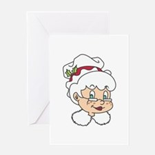 MRS CLAUS Greeting Cards