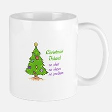 CHRISTMAS TREE ISLAND Mugs