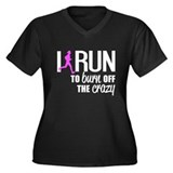 Run to burn off crazy Plus Size