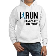 I run to burn off the crazy Jumper Hoody