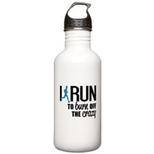 I run to burn off the Water Bottle
