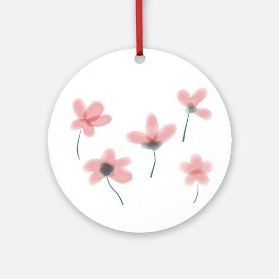 Soft Flower Ornament (Round)