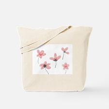 Soft Flower Tote Bag