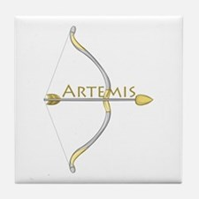 Bow of Artemis Tile Coaster