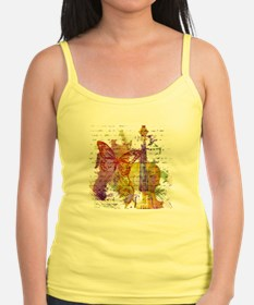 butterfly music Tank Top