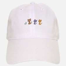 Emoji Cats Baseball Baseball Baseball Cap