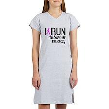 Cute Half marathon Women's Nightshirt