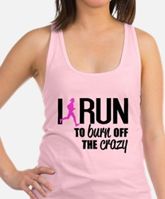 Cute Running Racerback Tank Top