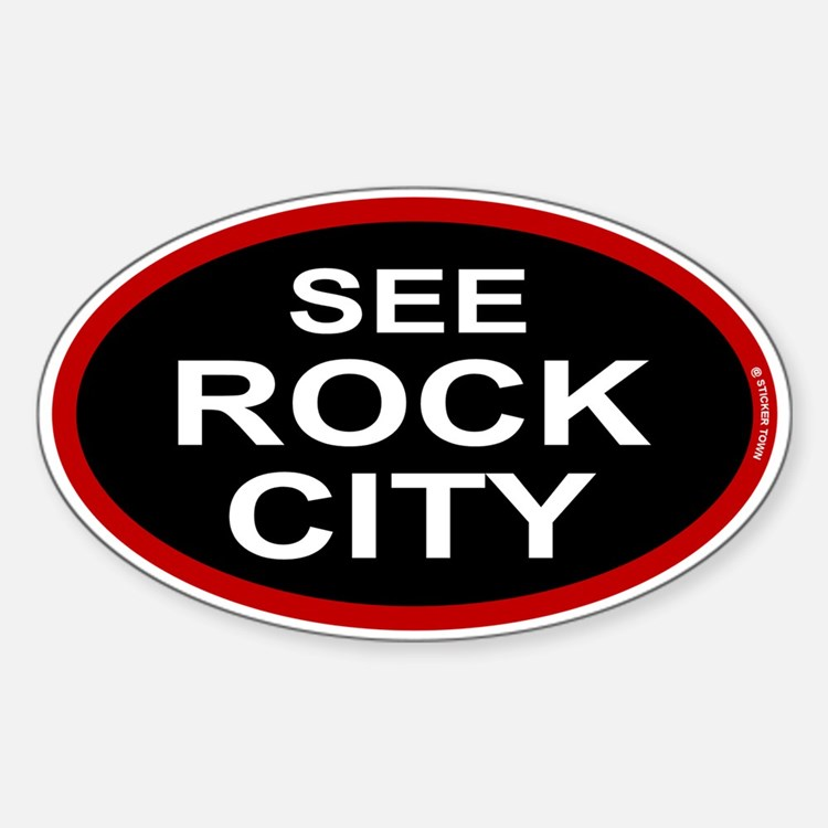 See Rock City Decal