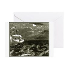 Sea Serpent Greeting Cards (Pk of 10)