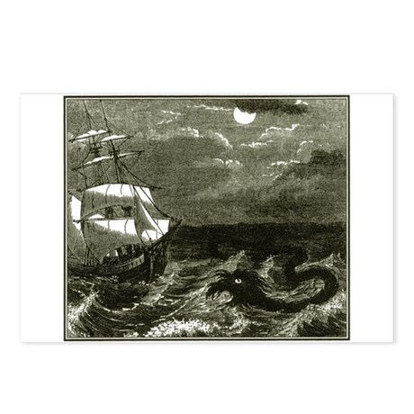 Sea Serpent Postcards (Package of 8)