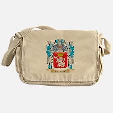 Keegan Coat of Arms - Family Crest Messenger Bag