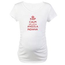 Keep calm we live in Angola Indi Shirt