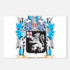 Keeling Coat of Arms - Fa Postcards (Package of 8)
