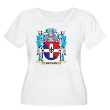 Keenan Coat of Arms - Family Cre Plus Size T-Shirt
