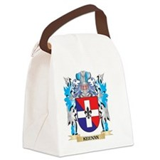 Keenan Coat of Arms - Family Cres Canvas Lunch Bag