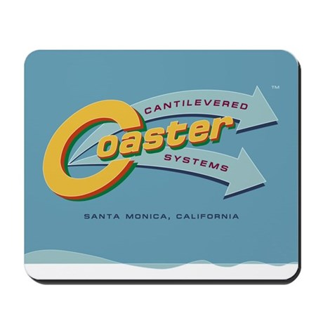 Cantilevered Coaster Mousepad