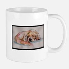 Sleeping Golden Retriever Mug